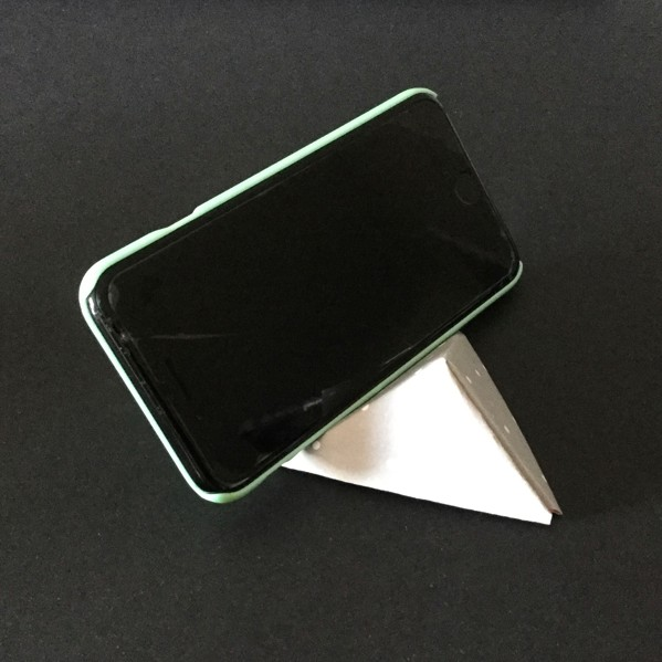 origami phone stand