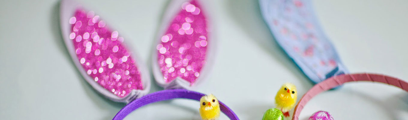 Get Creative and make some Easter Bunny Ears!