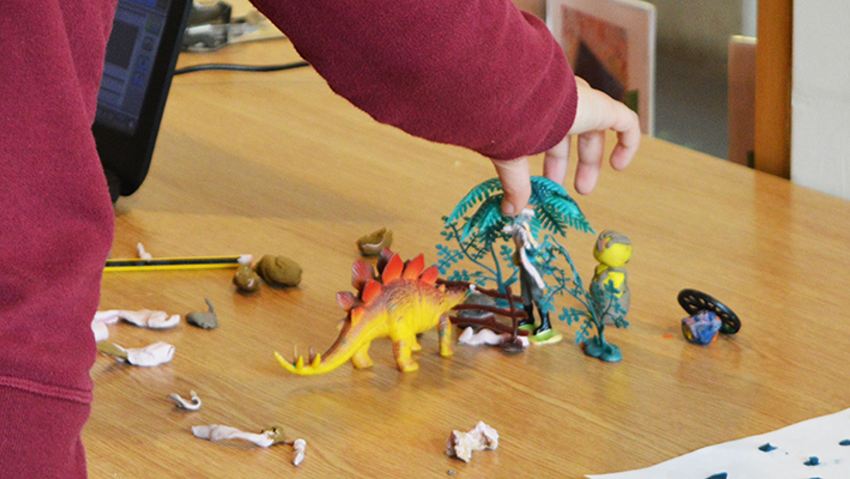Young Creatives: Stop Motion Animation