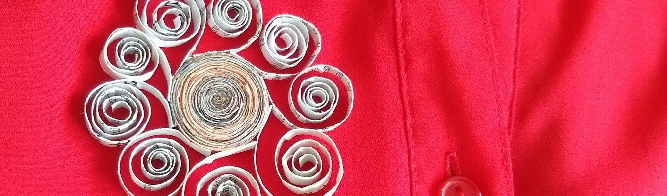 Art for Normals: Quilling Brooch