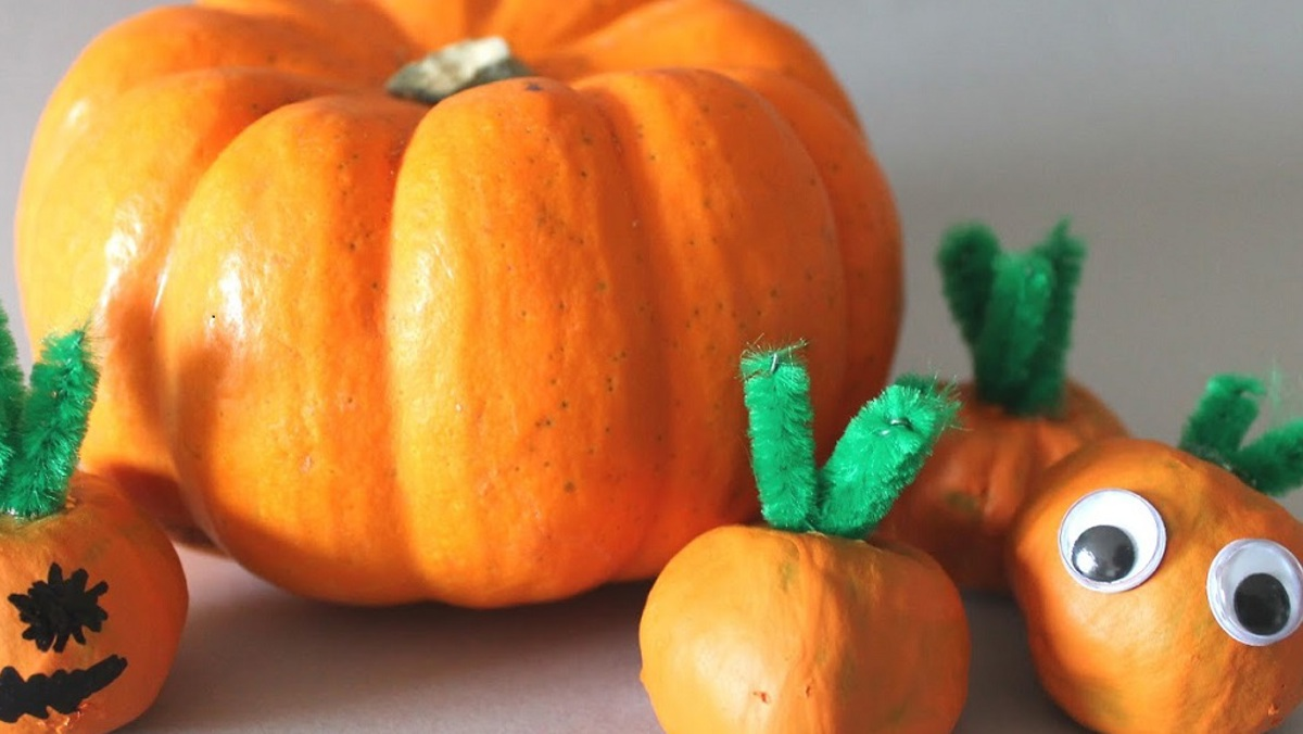 Create at Home: Conker Pumpkins