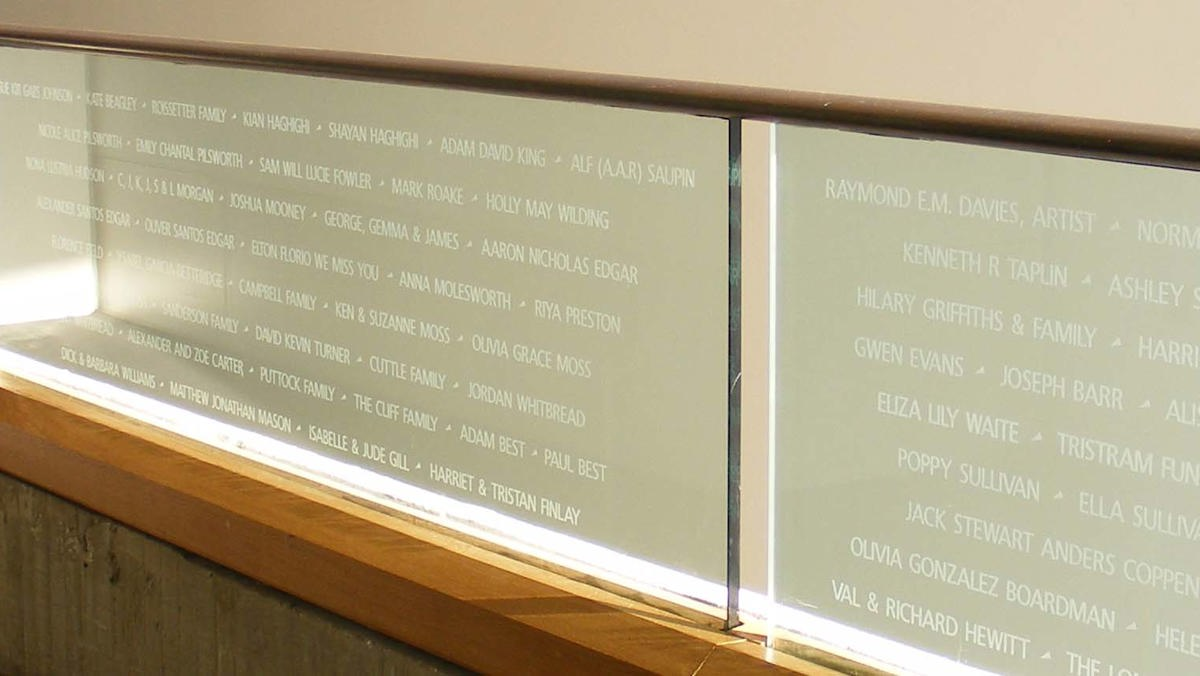 Names in Glass